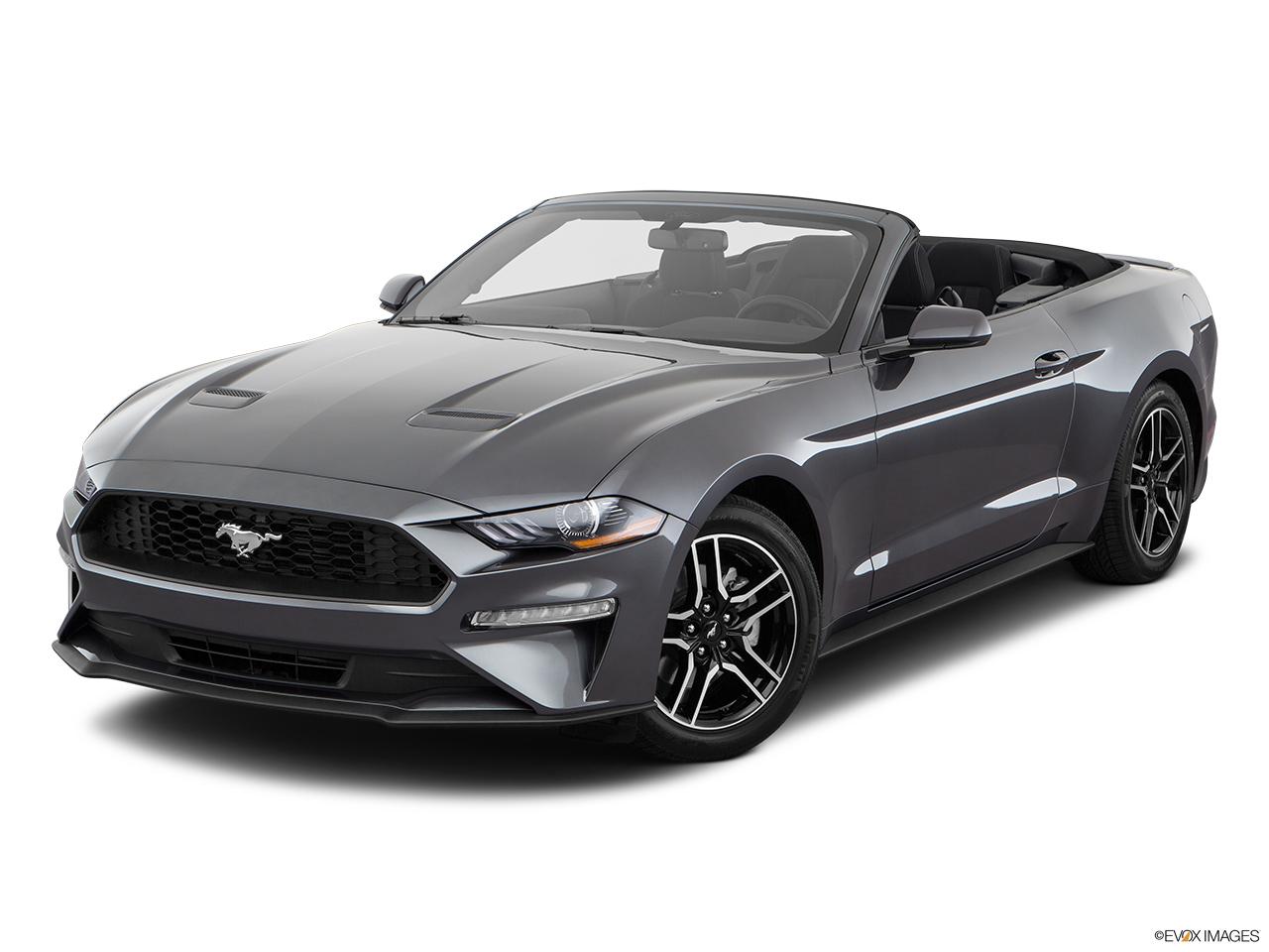 Ford Mustang 2018, Saudi Arabia, Front angle view.