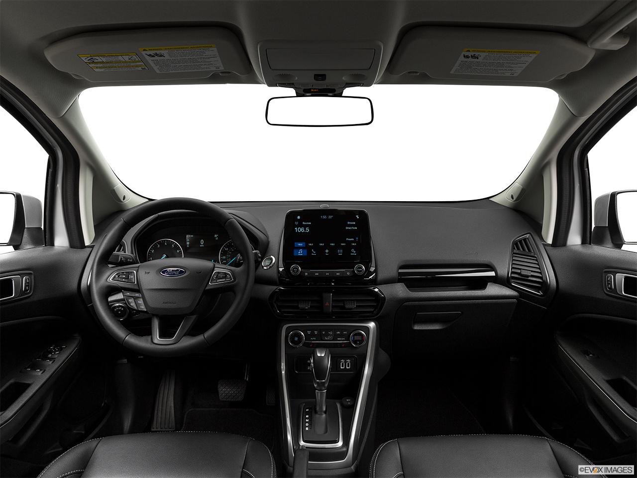 Ford EcoSport 2018 1.5 Titanium, Saudi Arabia, Centered wide dash shot