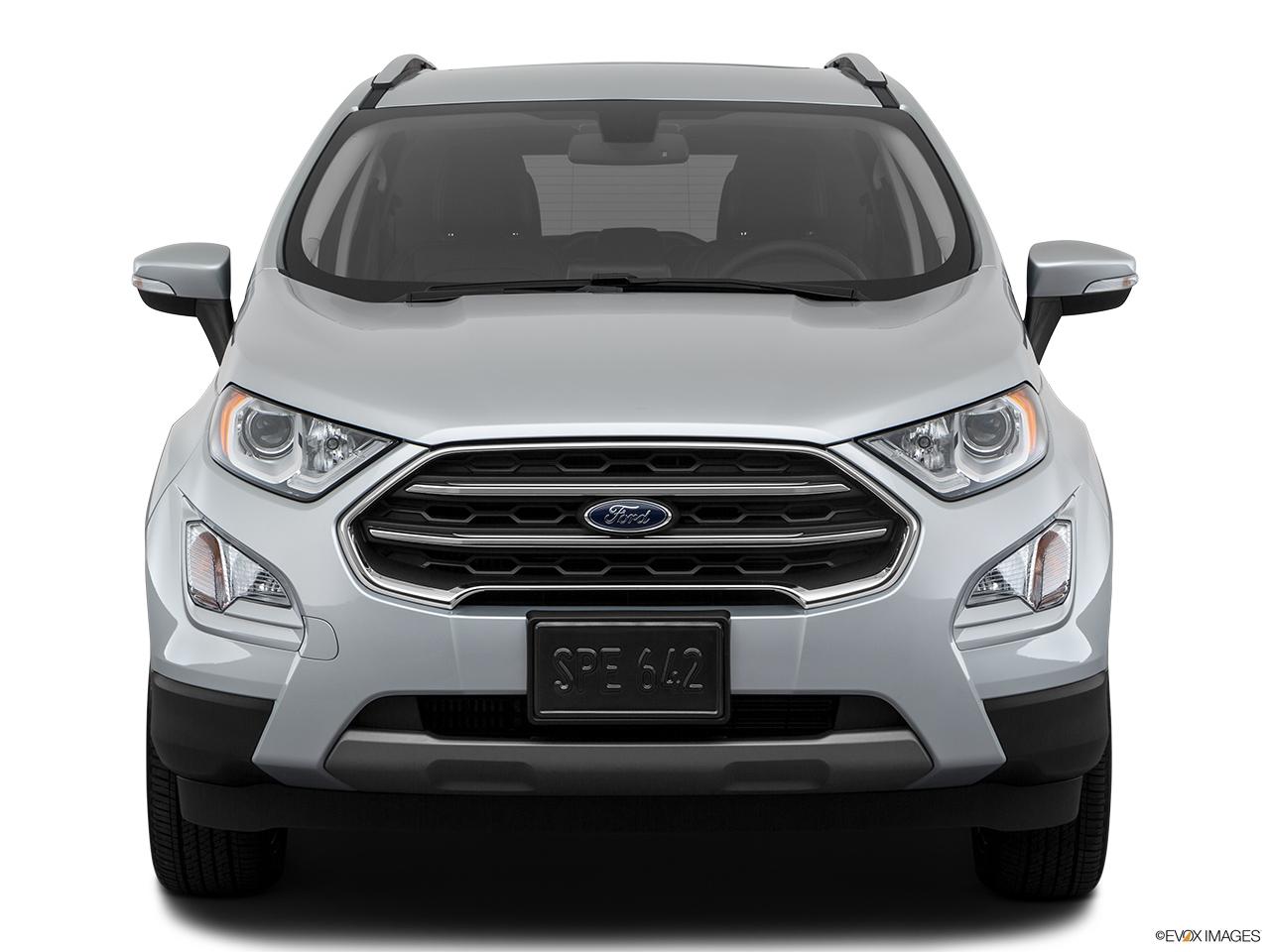 Ford EcoSport 2018 1.5 Titanium, Saudi Arabia, Low/wide front.