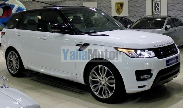 used land rover range rover sport 5 0 autobiography 2014 car for sale in dubai 663923. Black Bedroom Furniture Sets. Home Design Ideas