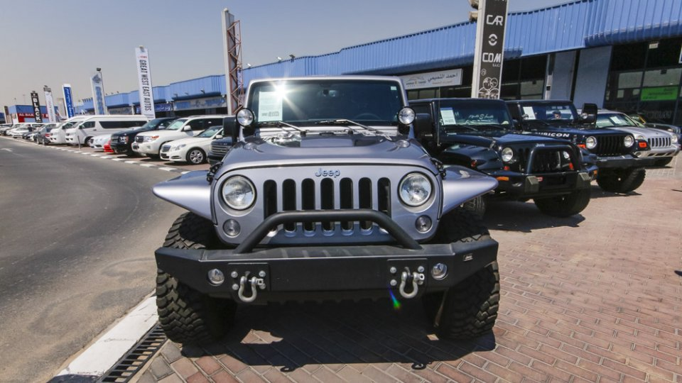 Used Jeep Wrangler Unlimited 5 Door 2013 679573