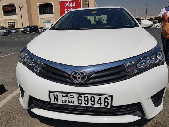 Used Toyota Corolla 2015 Car For Sale In Dubai 754847