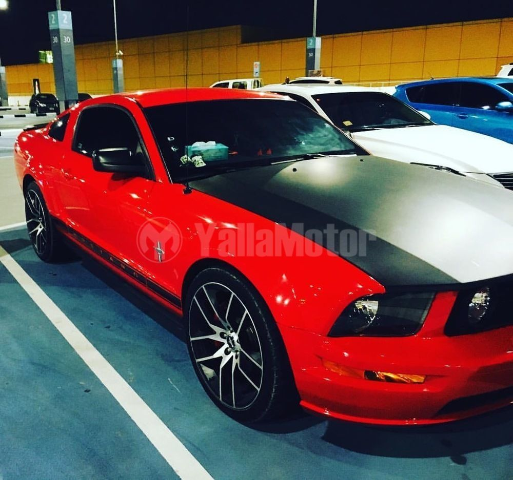 used ford mustang v6 2007 car for sale in ras al khaimah. Black Bedroom Furniture Sets. Home Design Ideas