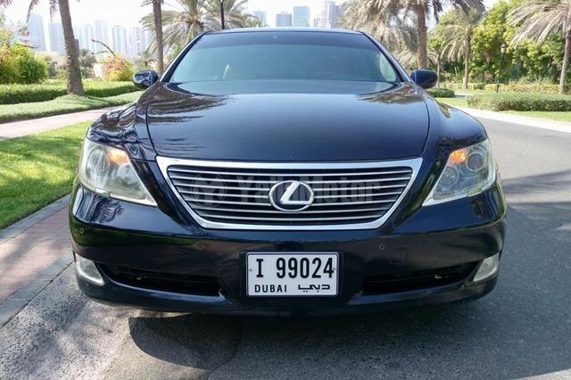 used lexus ls 460 2007 car for sale in dubai 752385. Black Bedroom Furniture Sets. Home Design Ideas