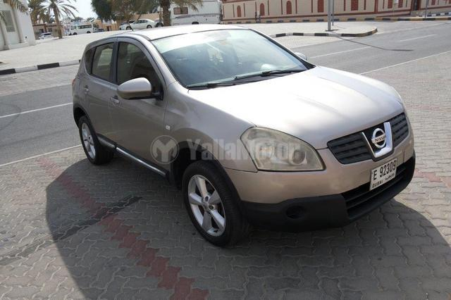 used nissan qashqai se 2008 car for sale in sharjah 753278. Black Bedroom Furniture Sets. Home Design Ideas