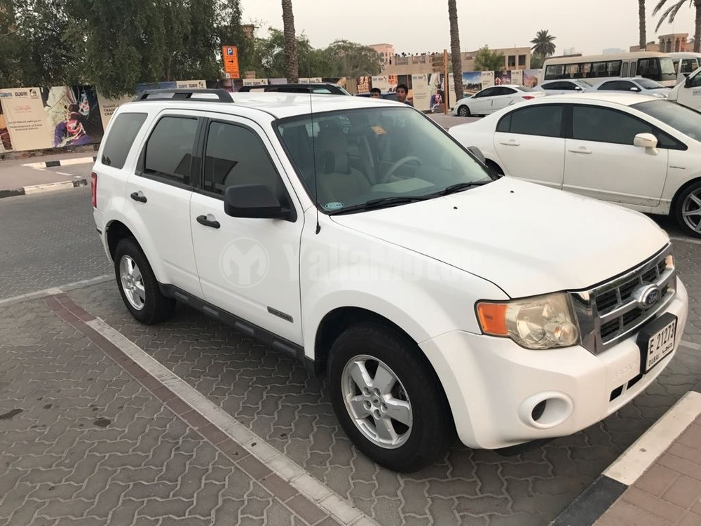used ford escape 2008 car for sale in dubai 762041. Black Bedroom Furniture Sets. Home Design Ideas