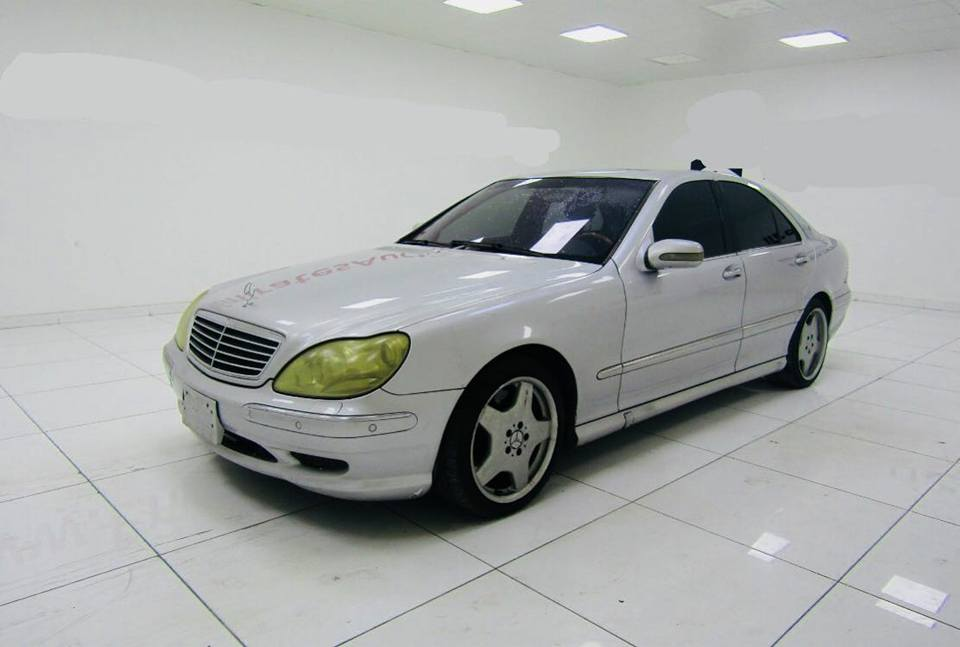 used mercedes benz s class 2001 car for sale in dubai. Black Bedroom Furniture Sets. Home Design Ideas