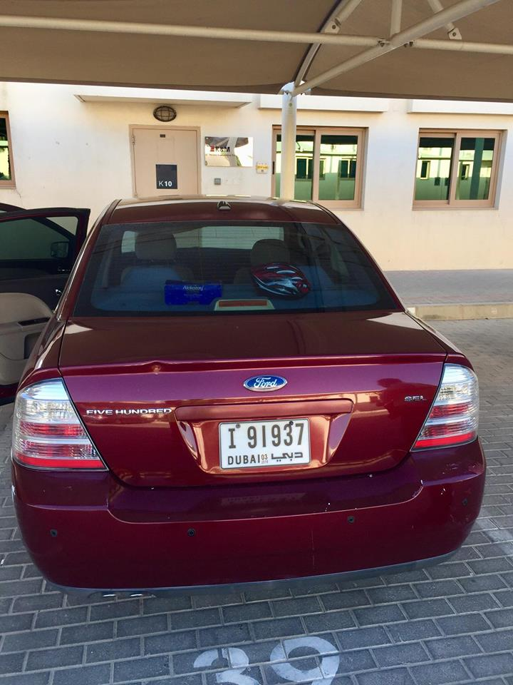 Used Ford Five Hundred 2008 Car For Sale In Dubai 762315