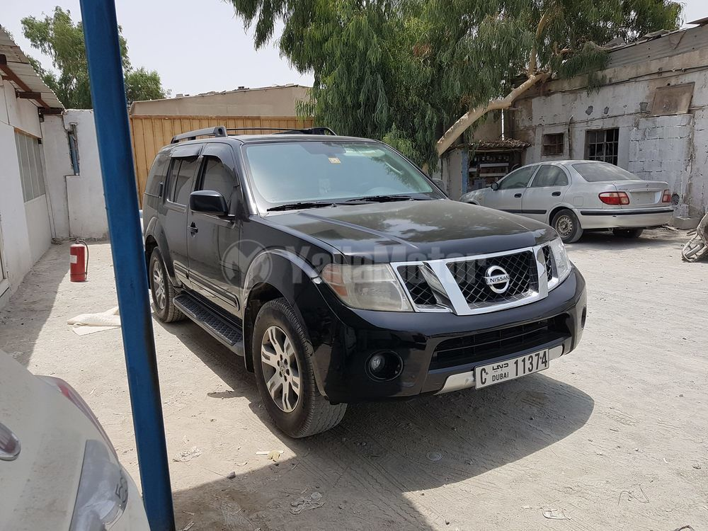 used nissan pathfinder 2009 car for sale in sharjah 764875. Black Bedroom Furniture Sets. Home Design Ideas