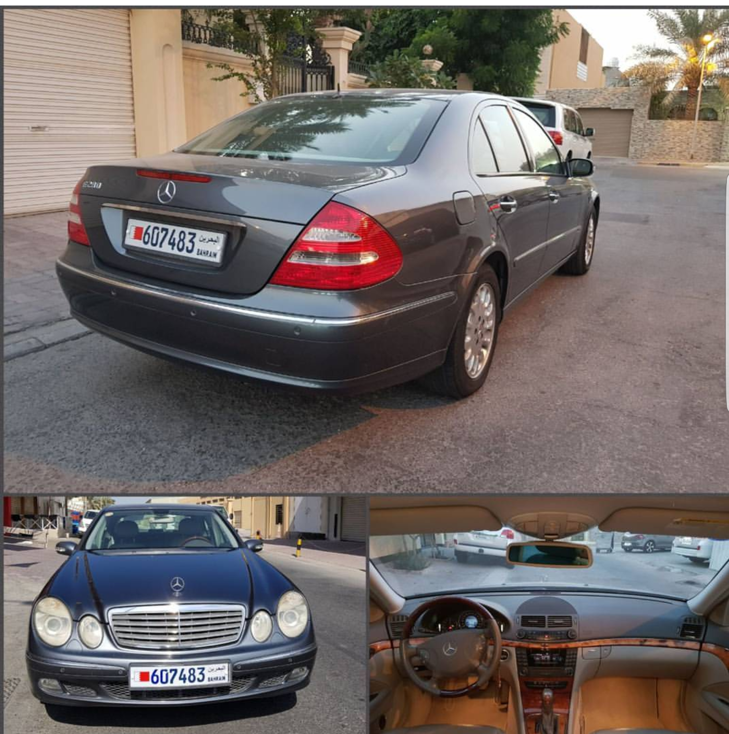 Used mercedes benz e 280 e 280 2006 car for sale in manama for Mercedes benz bahrain