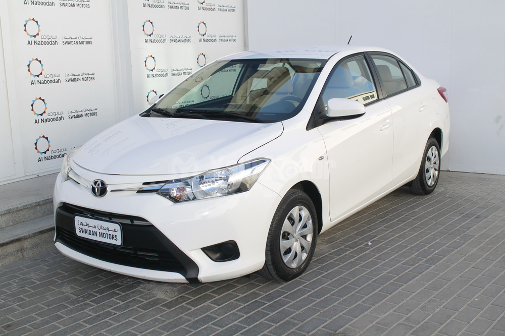 Fresh toyota Yaris Sedan 2016