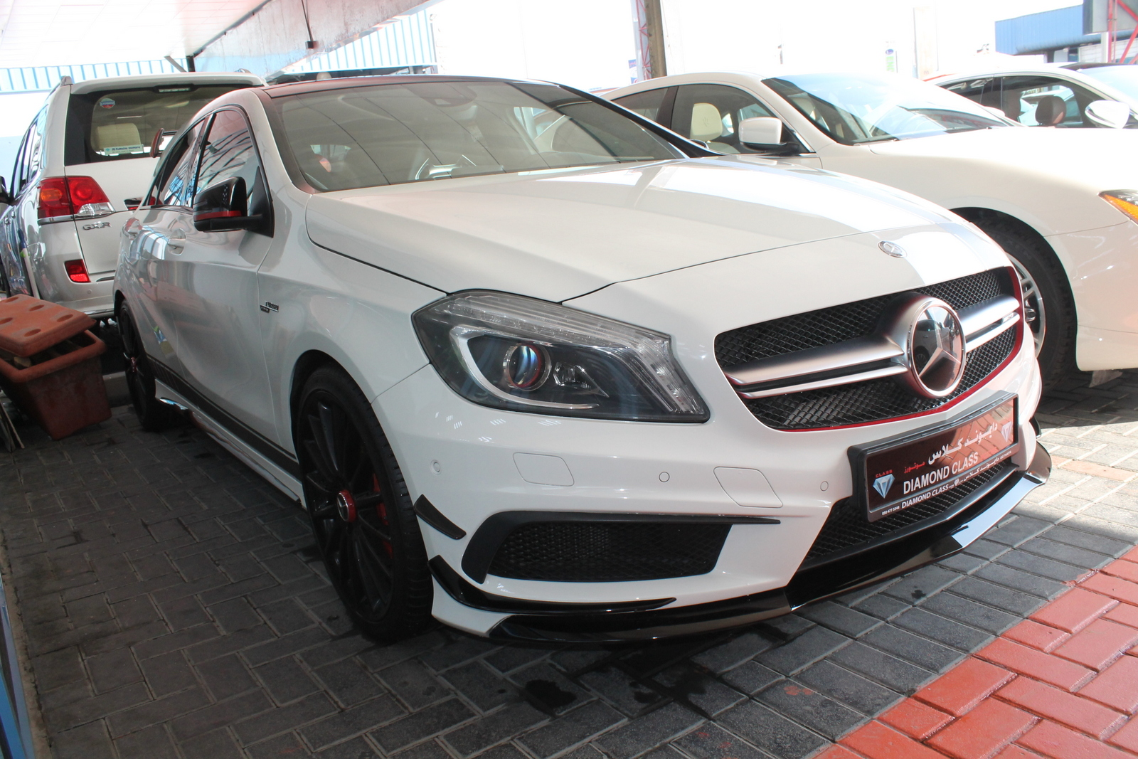 Used mercedes benz a 45 amg 2015 car for sale in dubai for Used mercedes benz cars