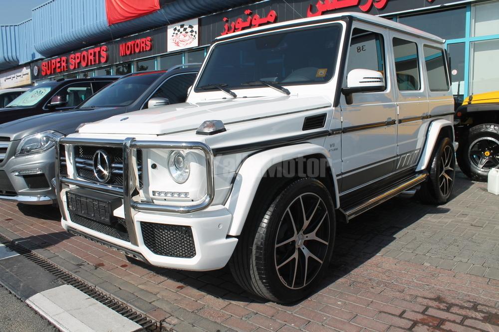 Used Mercedes-Benz G 63 AMG V8 Biturbo 2015 Car for Sale in Dubai ...