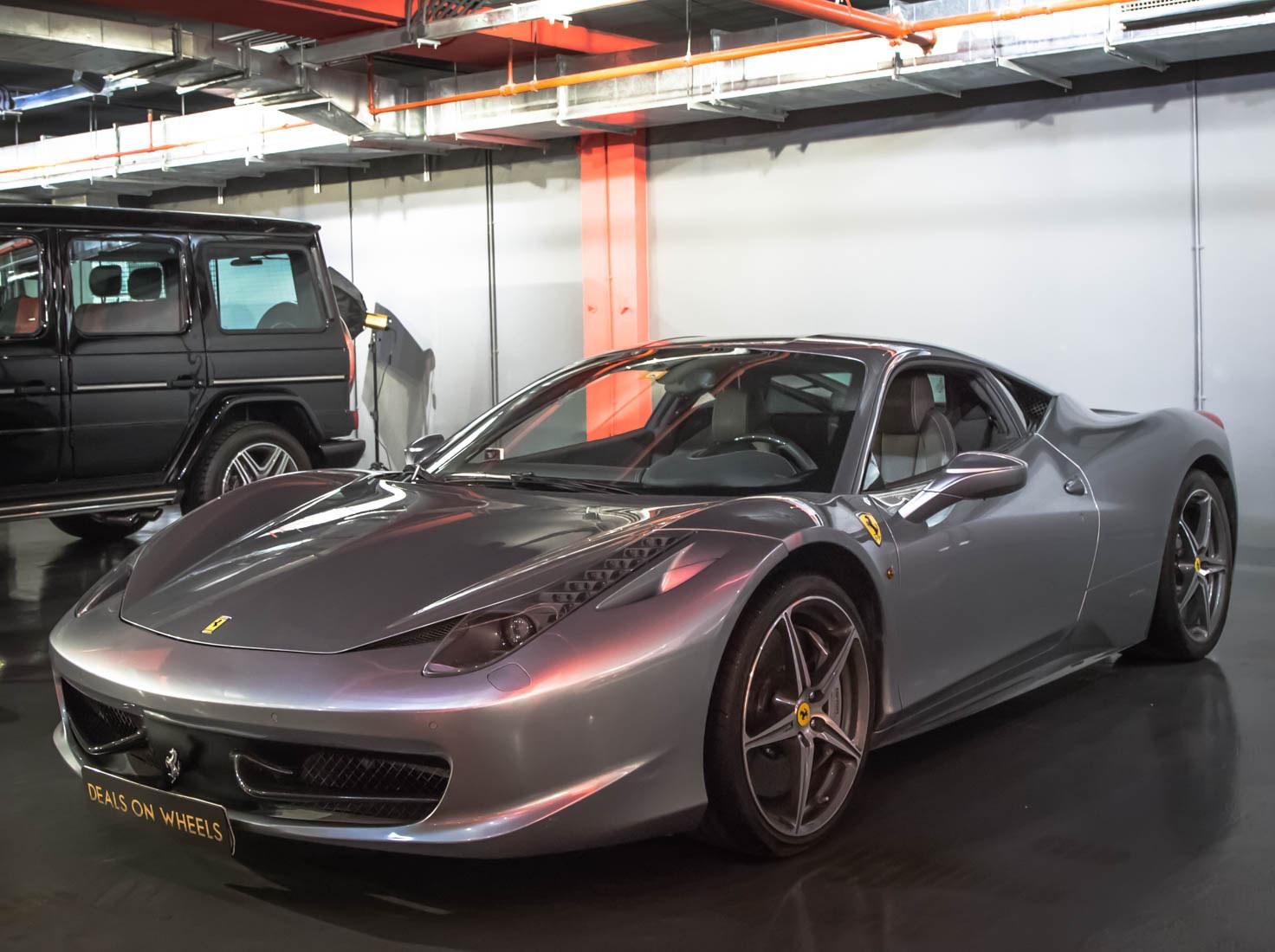 Used Ferrari 458 2013 Car For Sale In Dubai 769275