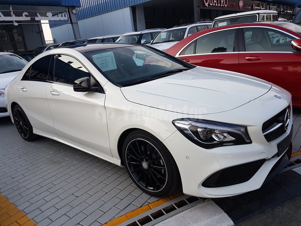 New mercedes benz cla class cla 250 2017 car for sale in dubai for Mercedes benz new cars 2017