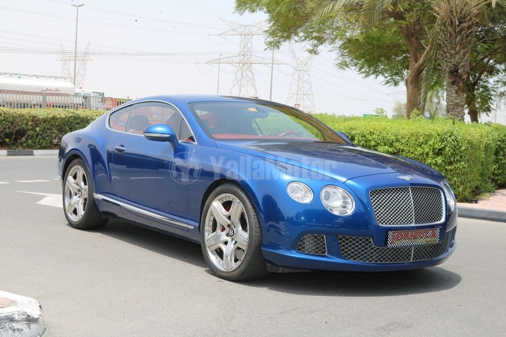 Used Bentley Continental Gt V8 2012 Car For Sale In Dubai