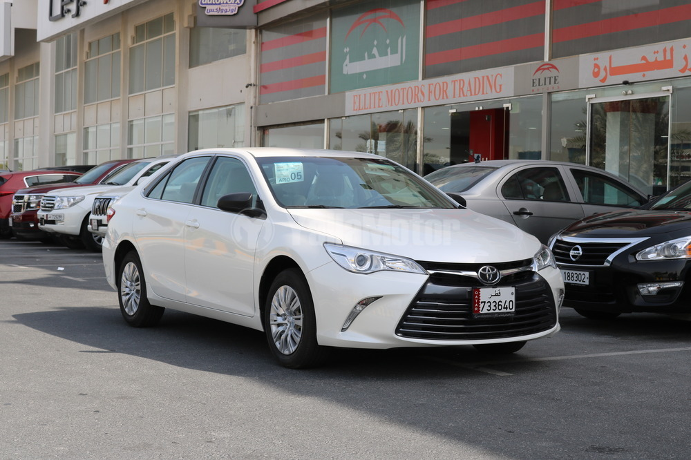 new toyota camry 2017 car for sale in doha. Black Bedroom Furniture Sets. Home Design Ideas