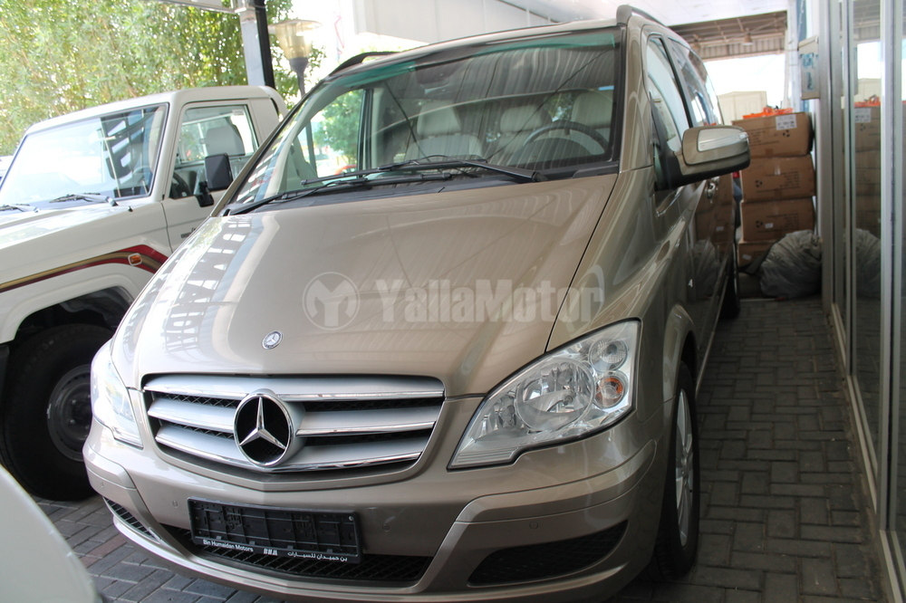Used mercedes benz mpvs viano 3 5l 2012 car for sale in for Mercedes benz saudi arabia