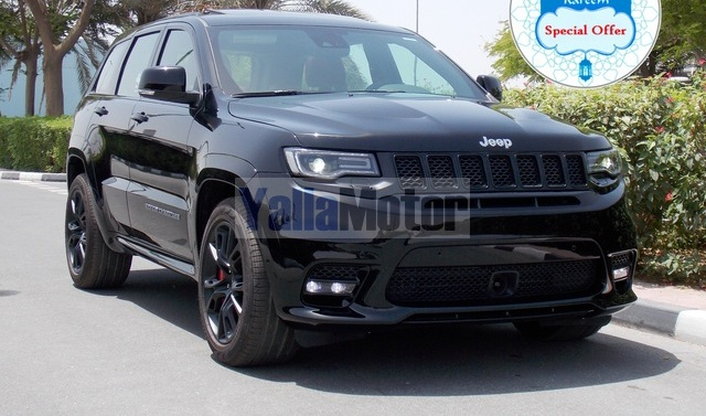new jeep grand cherokee srt8 2017 car for sale in dubai. Black Bedroom Furniture Sets. Home Design Ideas