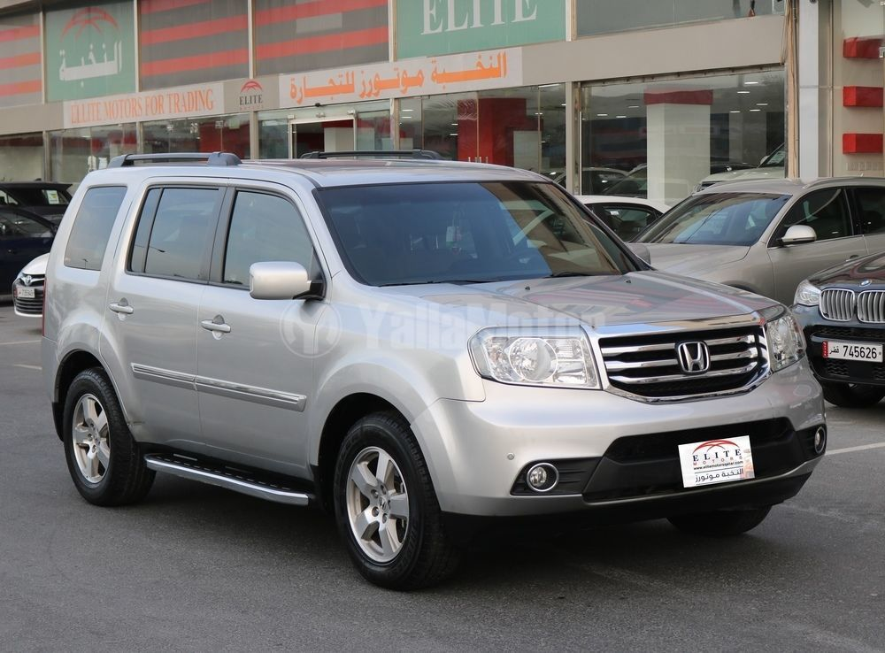 used honda pilot 2012 car for sale in doha 730352. Black Bedroom Furniture Sets. Home Design Ideas
