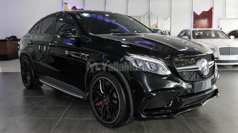 used mercedes benz gle 63 amg 2016 car for sale in dubai 732220. Black Bedroom Furniture Sets. Home Design Ideas