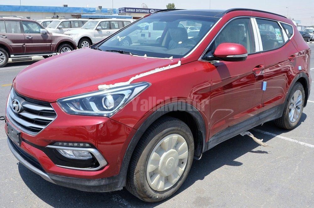 New hyundai santa fe 2 4l fwd 2017 car for sale in dubai for Hyundai motor finance fax number