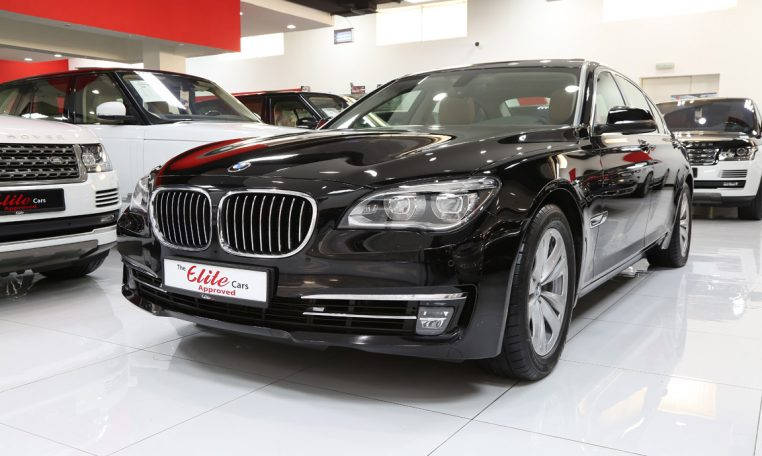 used bmw 7 series 740li 2014 car for sale in dubai 738086. Black Bedroom Furniture Sets. Home Design Ideas