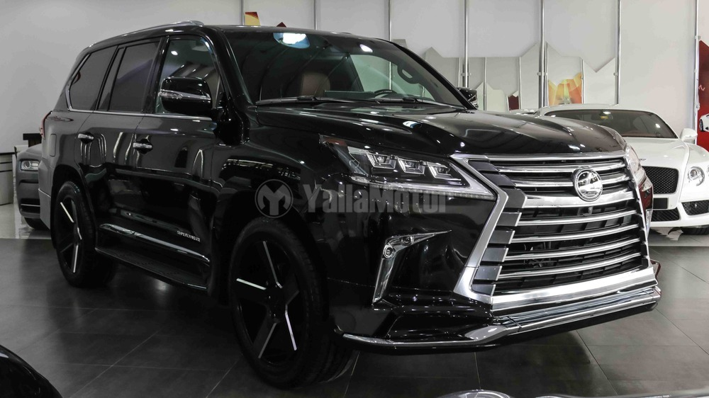 New Lexus Lx 570 Supercharger 2017 Car For In Dubai