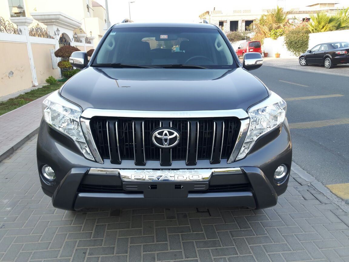 Used Toyota Land Cruiser Prado 2014 Car For Sale In Dubai