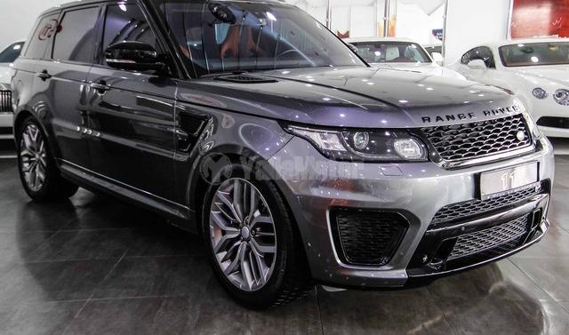 New Land Rover Range Rover Sport SVR 2015