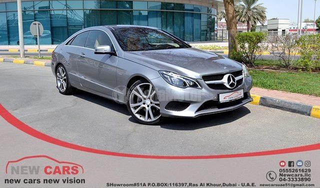 Used Mercedes Benz E Class Coupe E 200 2014 Car For Sale In Dubai
