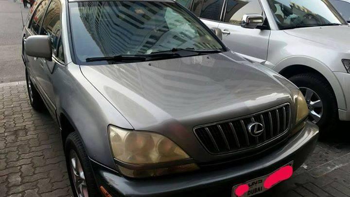 Used Lexus Rx Series 330 2001 Car For Sale In Dubai