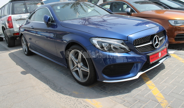 Used mercedes benz c class coupe c 300 2016 car for sale for Mercedes benz c class used cars for sale