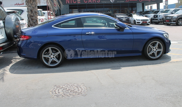 Used mercedes benz c class coupe c 300 2016 car for sale for Used mercedes benz c class coupe for sale