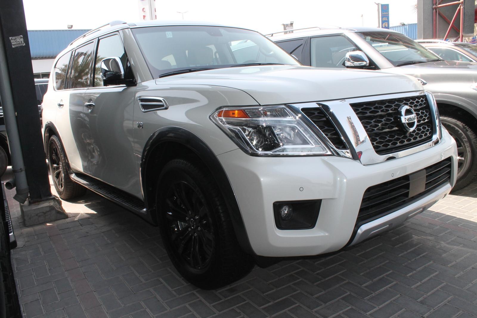 Used Nissan Armada Platinium 2017 Car For Sale In Dubai