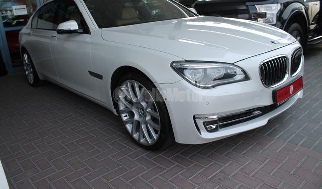New BMW 7 Series 750Li 2014 Car For Sale In Dubai