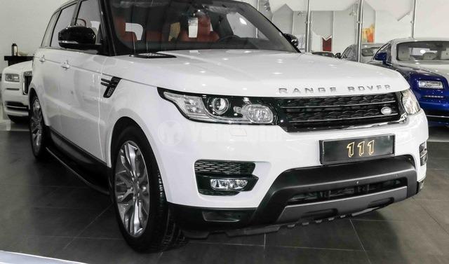 new land rover range rover sport supercharged 2016 car for sale in dubai. Black Bedroom Furniture Sets. Home Design Ideas