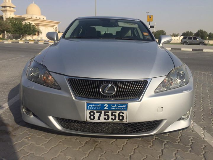 used lexus is 250 f 2010 car for sale in sharjah 746267. Black Bedroom Furniture Sets. Home Design Ideas