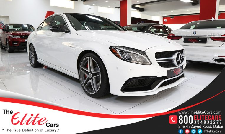 Used mercedes benz c 63 amg s 2017 car for sale in dubai for Mercedes benz finance phone number