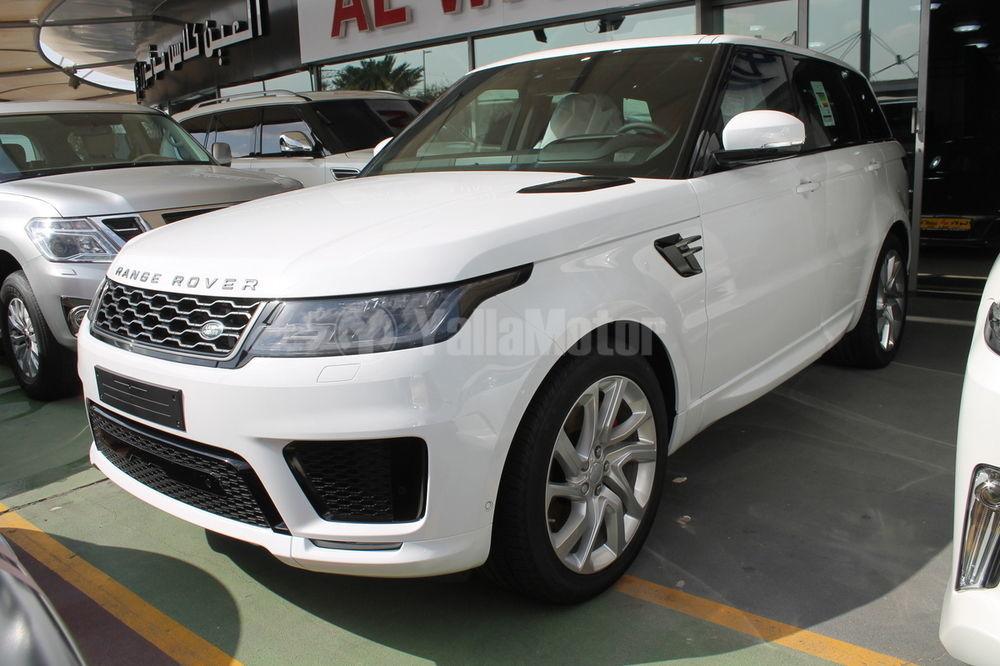 new land rover range rover sport supercharged 2018 car for sale in dubai. Black Bedroom Furniture Sets. Home Design Ideas
