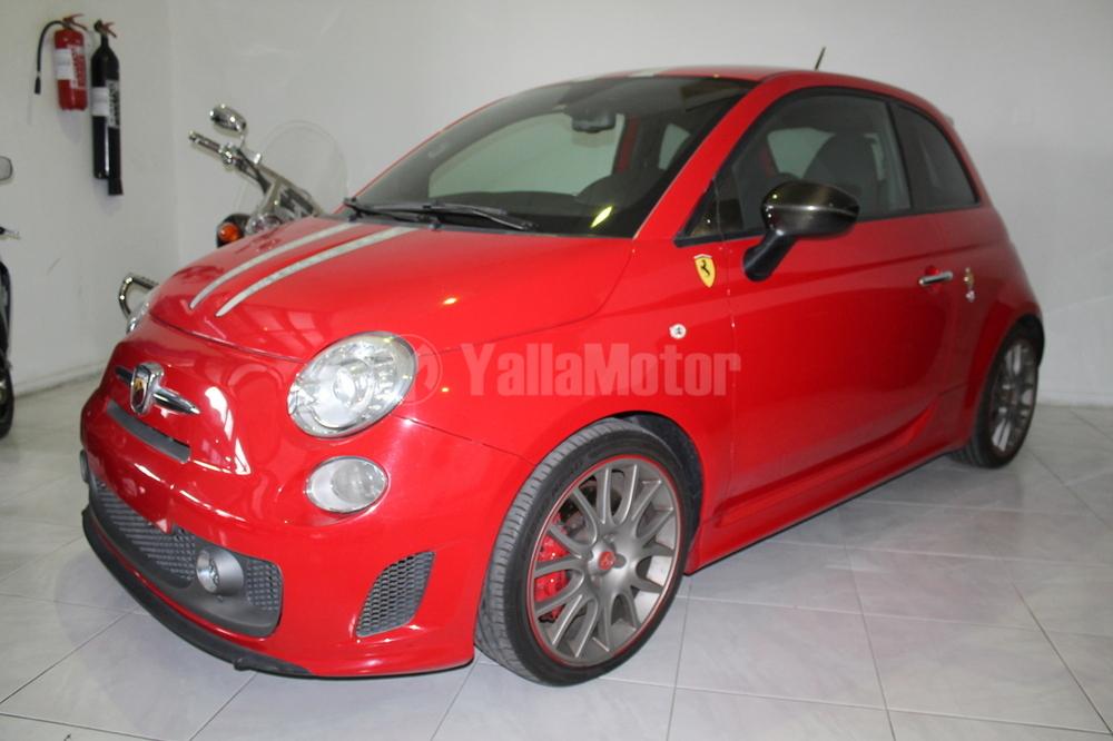 used fiat 500 abarth 695 tributo ferrari 2010 car for sale in dubai 771230. Black Bedroom Furniture Sets. Home Design Ideas