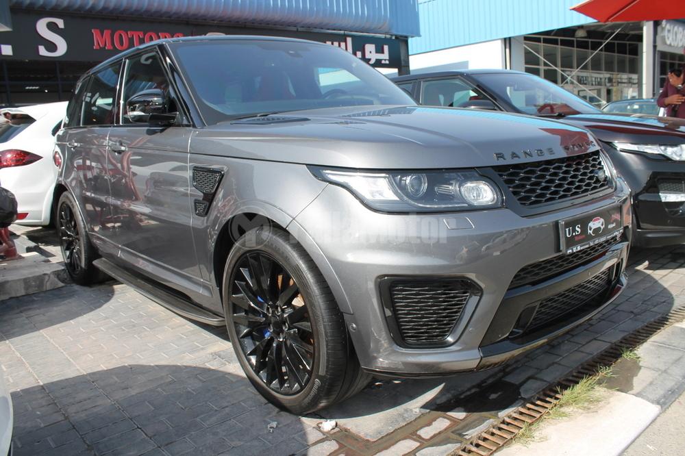 used land rover range rover sport svr 2016 car for sale in dubai 771803. Black Bedroom Furniture Sets. Home Design Ideas