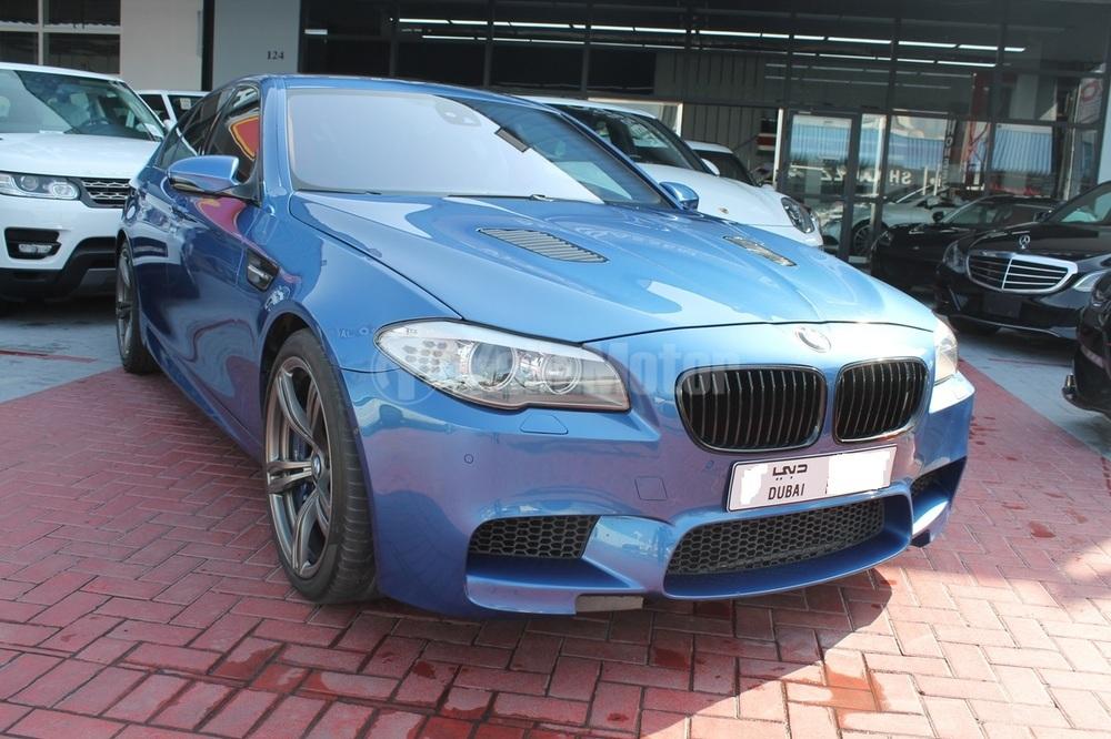 Used BMW M5 Sedan 4.4L V8 2013 Car for Sale in Dubai (772329 ...