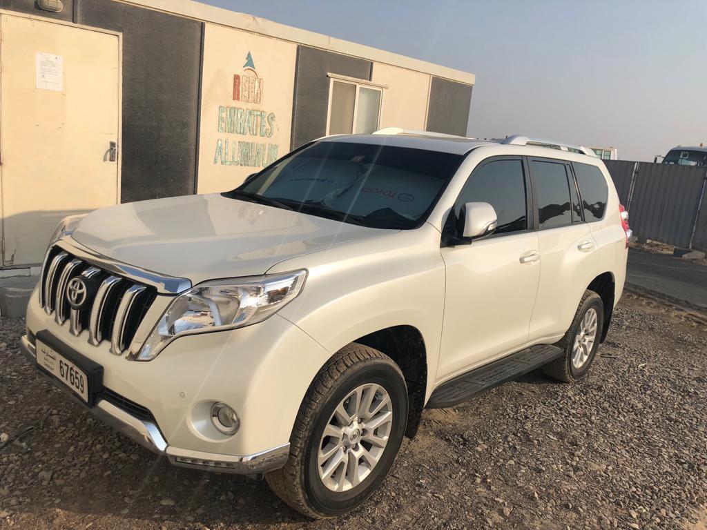 Used Toyota Land Cruiser Prado 5 Door 40l Vxr 2017 835767 In Sharjah 0jpeg