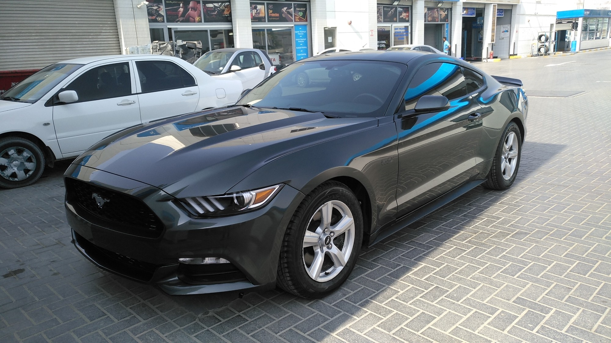 Used ford mustang v6 coupe 3 7l premium 2016 aed 55000