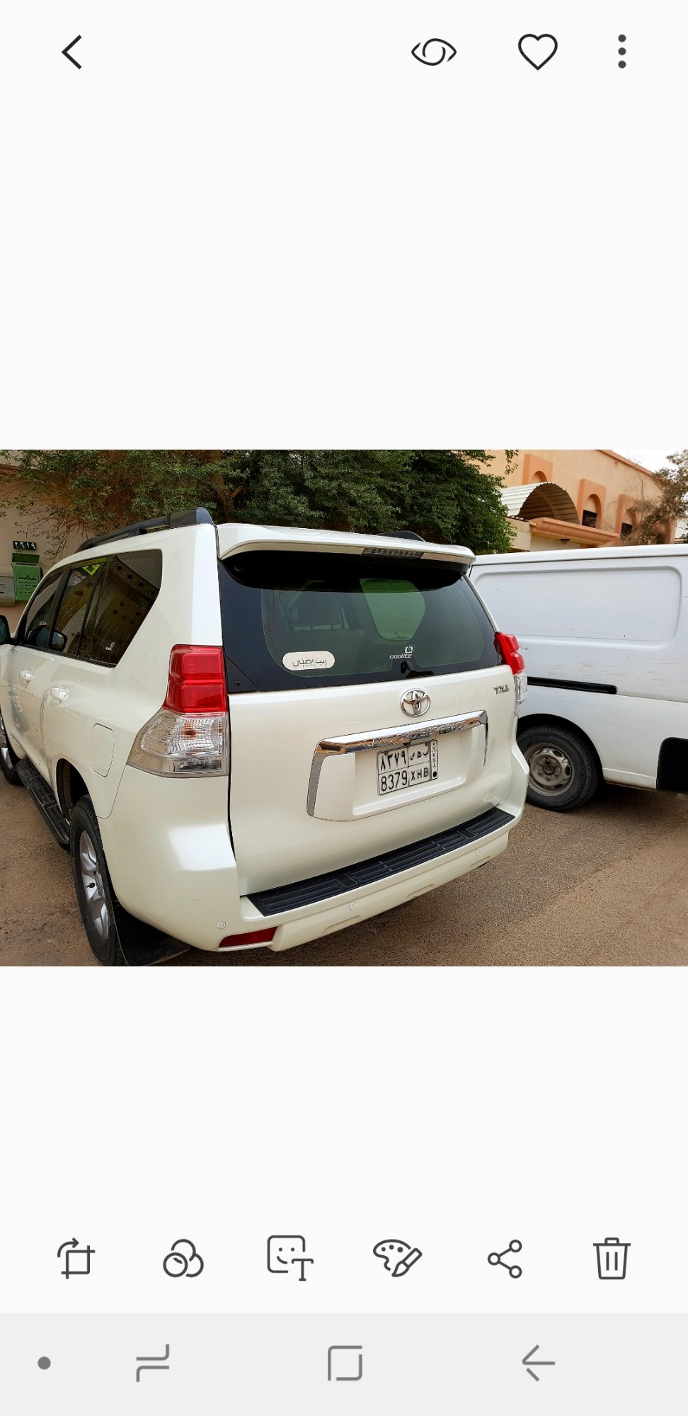 Used Toyota Land Cruiser Prado 5 Door 27l Automatic 2012 849313 Yallamotorcom