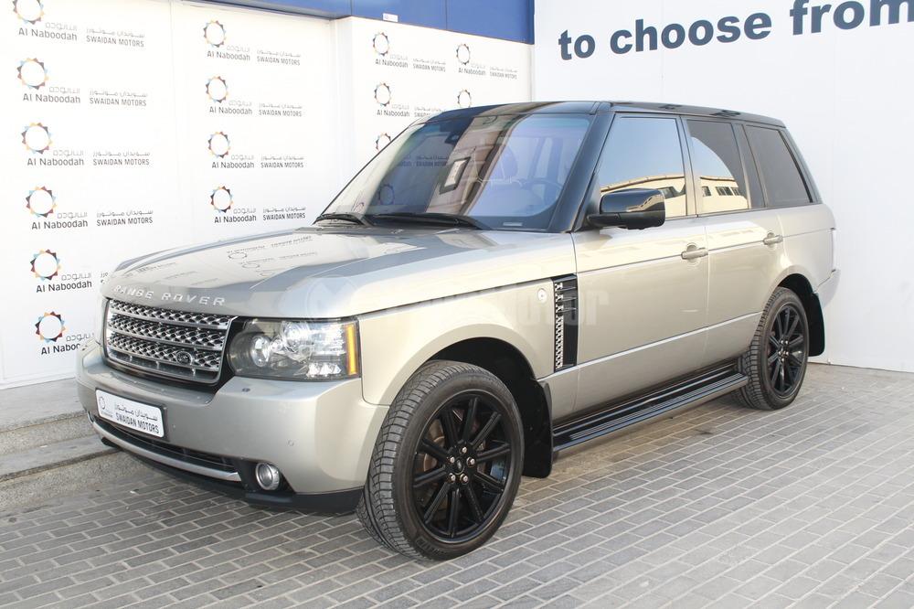 used land rover range rover 2010 car for sale in dubai. Black Bedroom Furniture Sets. Home Design Ideas