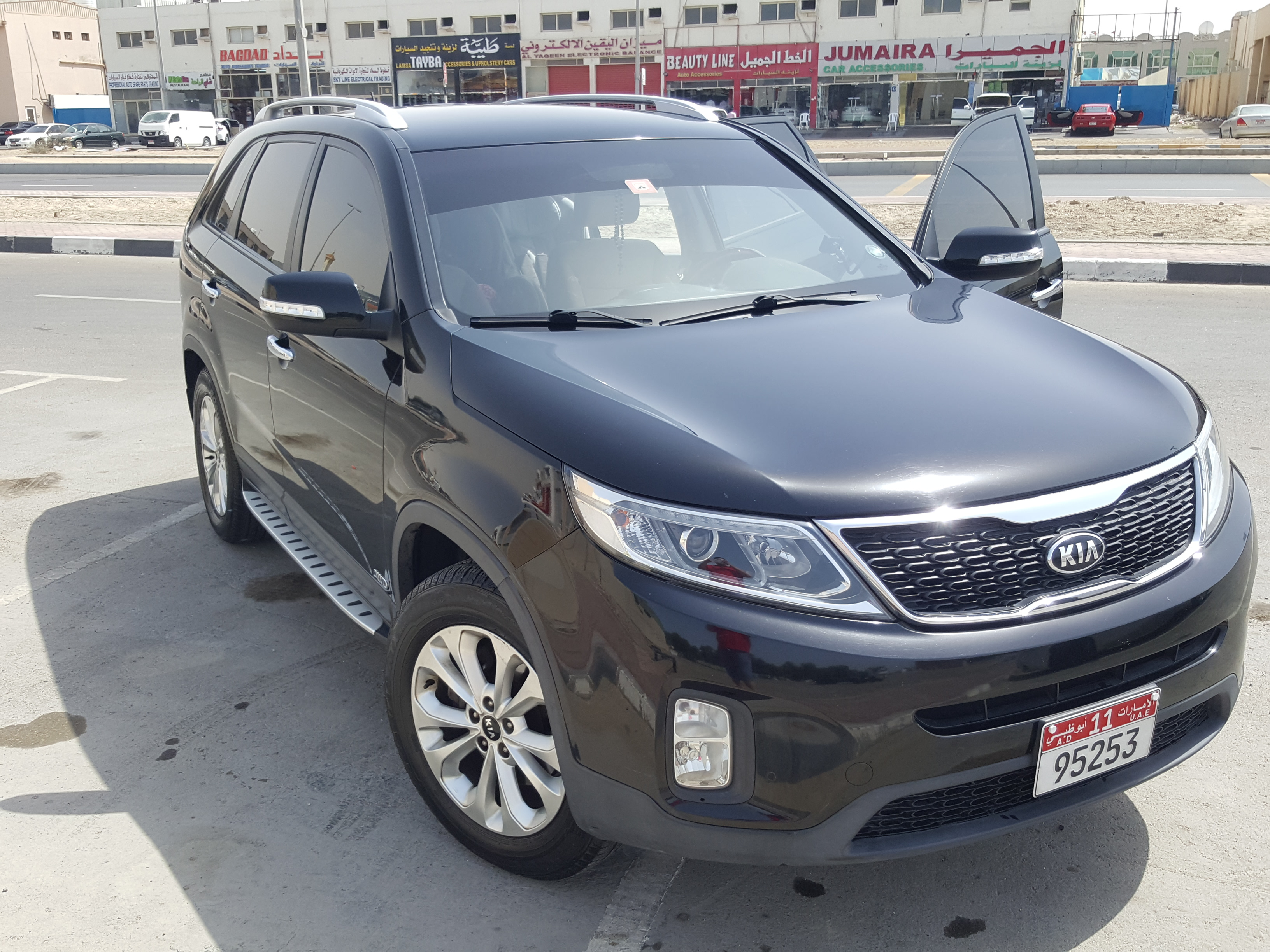Used Kia Sorento 35l 7 Seater 2014 787097 Yallamotorcom Accessories