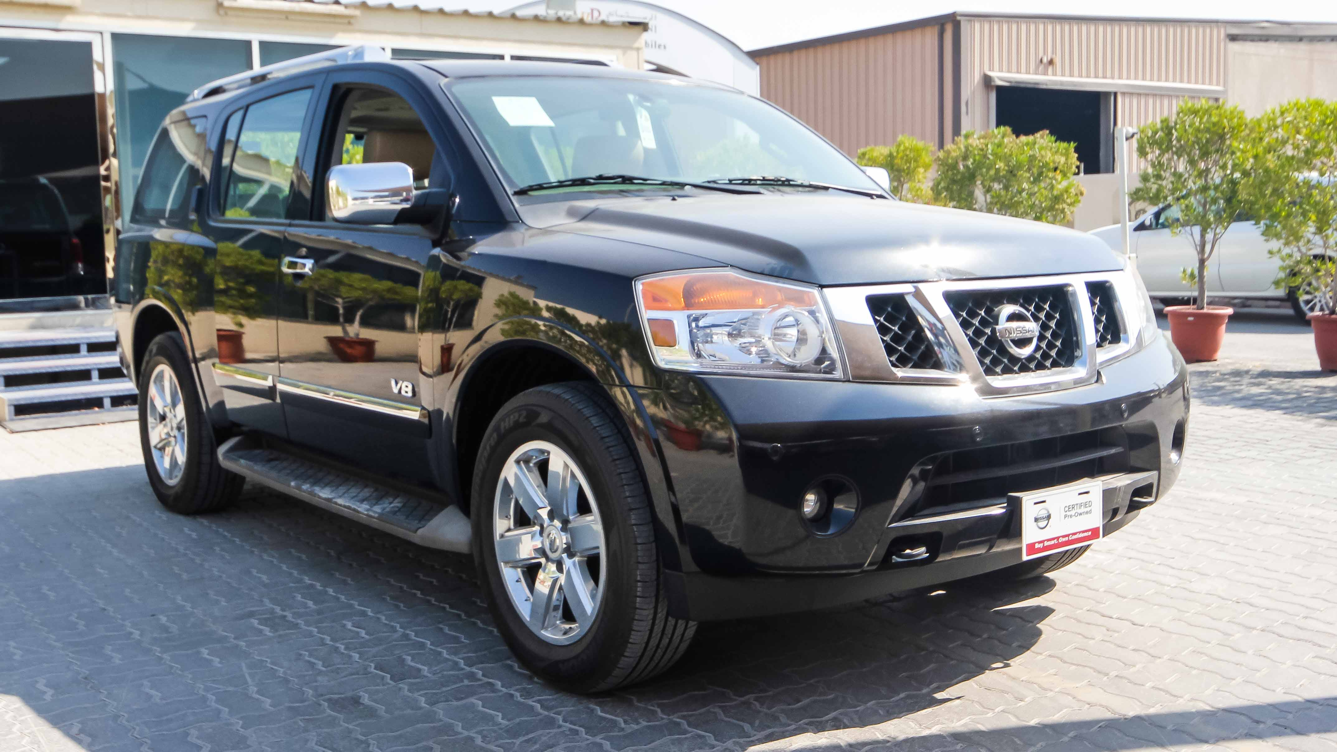 the armada platform new at chicago nissan auto and engine styling used gains show
