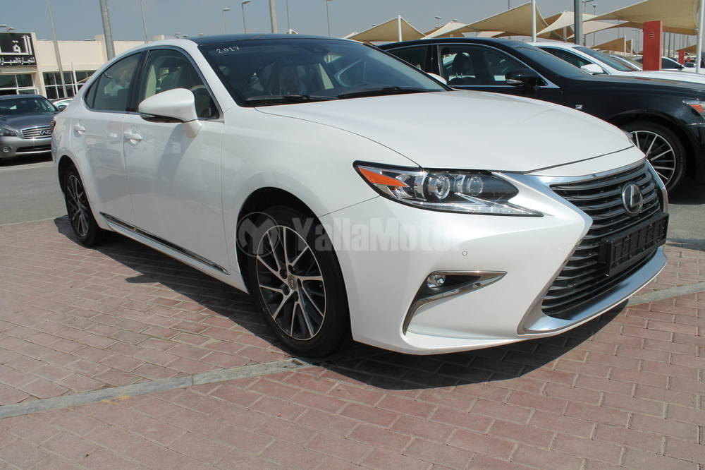 used lexus es 350 platinum 2017 car for sale in sharjah 784785. Black Bedroom Furniture Sets. Home Design Ideas